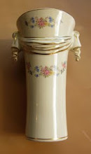 Photo: Unidentified flower vase -40s or 50s? Marked P-133 on bottom