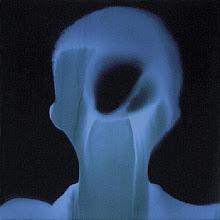 Photo: 03_Memoires photogramme 50x50cm sur papier bleu © Olivier Perrot 1996