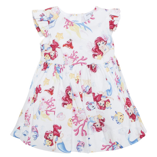 Primary image of Monnalisa Cotton Disney Dress