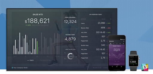 Databox: stay up to date with alerts, scorecards, and beautiful visualizations.