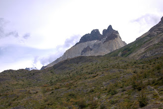 Photo: First sight of Los Cuernos, The Horns