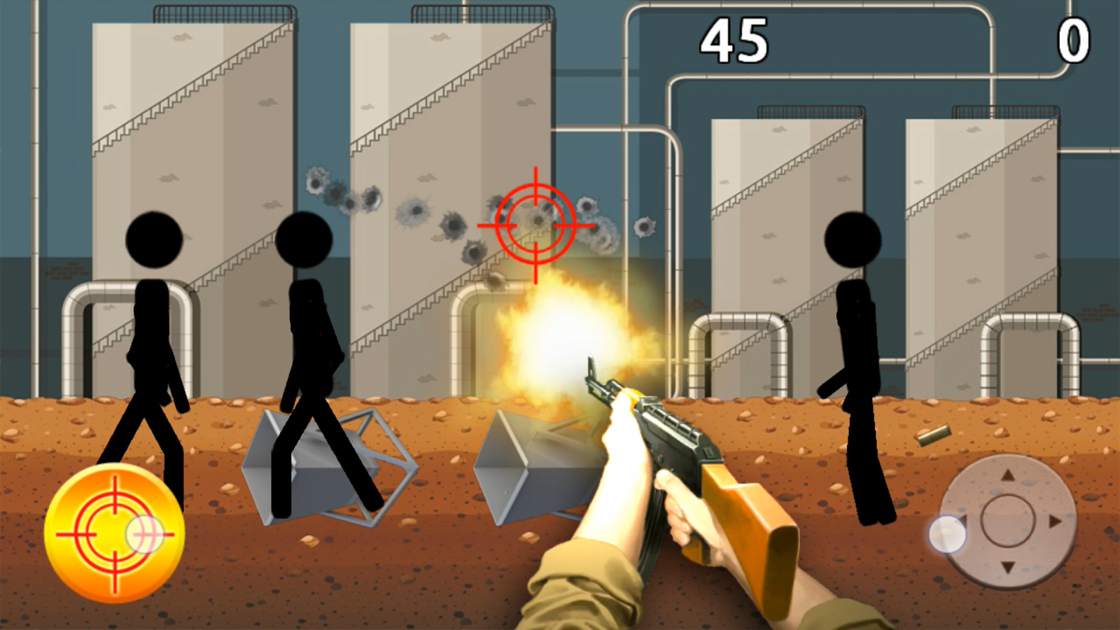 Stickman: Shooting- screenshot