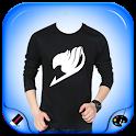 Men Designed T-Shirt Foto Suit icon