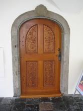Photo: Beautiful doorways were everywhere.