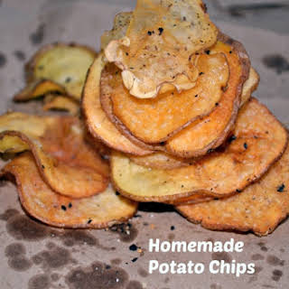 Baked Low Fat Potato Chips.