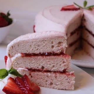 Strawberry Jam Cake.