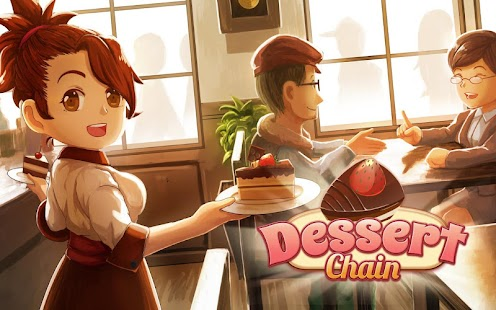 Dessert Chain: Café Waitress Cake Baking & Cooking- screenshot thumbnail
