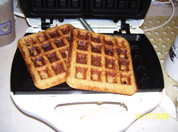 Three-grain Waffles Recipe