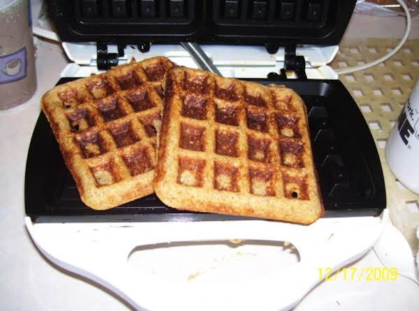 Three-grain Waffles
