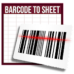 Barcode to Sheet Icon