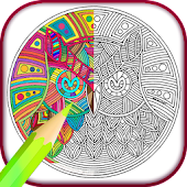 Mandala Adults Coloring Book