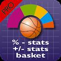 +/- plus % Basket Stats PRO icon