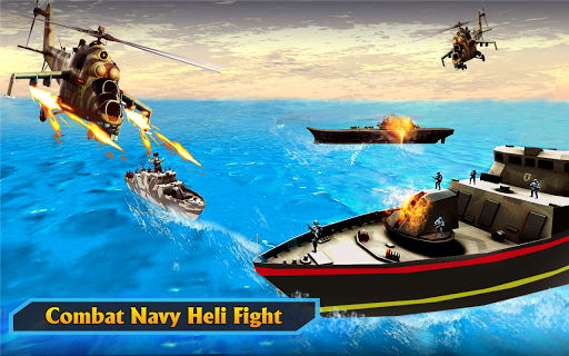 Gunship Helicopter Air War Strike apkdebit screenshots 3