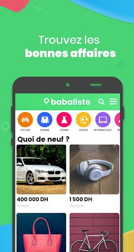 Babaliste - Vendre et Acheter screenshot