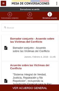 Mesa de Conversaciones screenshot 1
