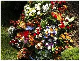 Photo: Egon Christensens begravelse okt. 2011