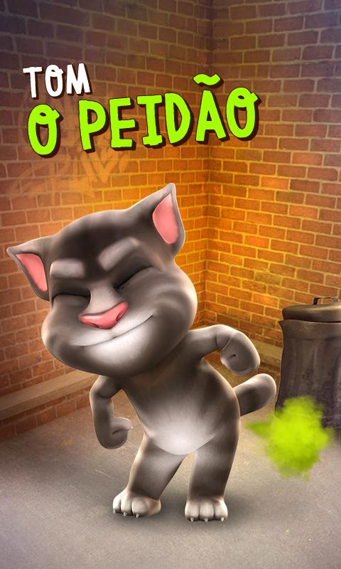 Talking Tom: captura de tela