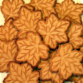Brittle Maple Sugar Cookies