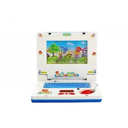 Laptop pentru copii, muzical, tastatura si mouse