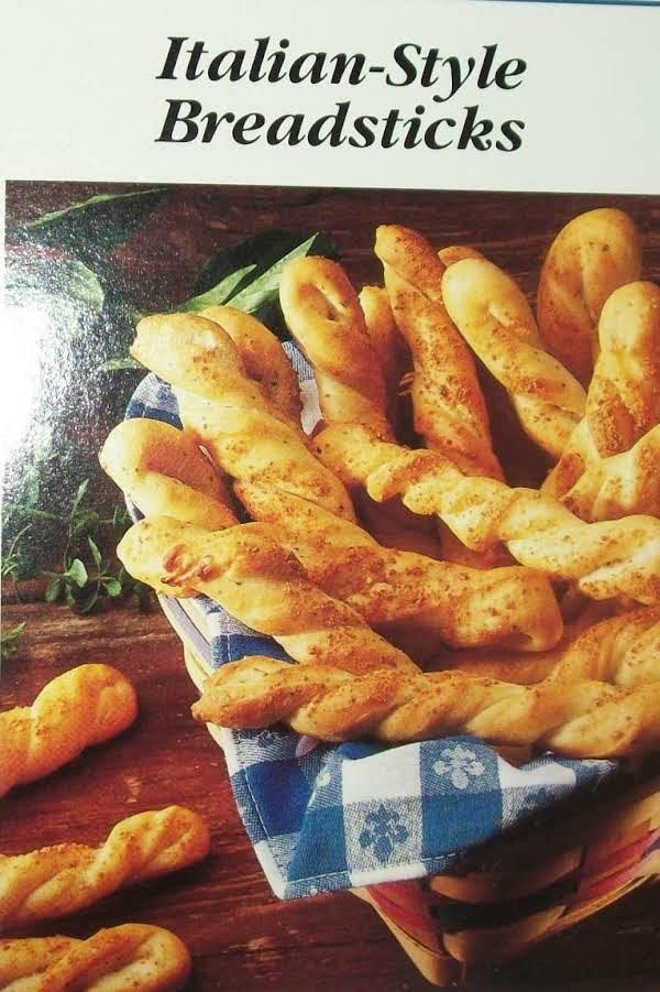 Italian-style Breadsticks Recipe