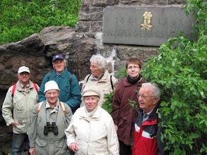 Photo: An unserer Gedenktafel am Kreuz des Deutschen Ostens