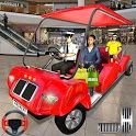 Shopping mall car Taxi driving & Parking 2019 icon