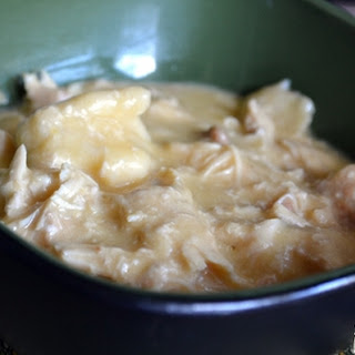 Man Pleasing Crock Pot Chicken and Dumplings