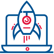 launch and promotion icon