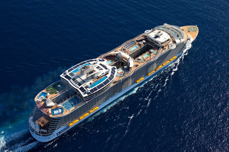 The 5,535-passenger Symphony of the Seas debuts in Europe before beginning Caribbean sailings in November 2018.
