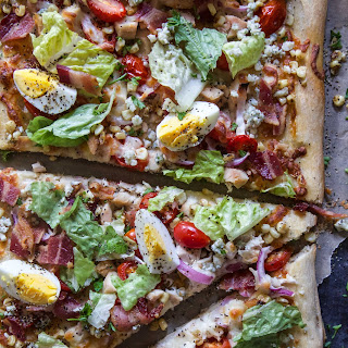 Summer Cobb Salad Pizza Recipe