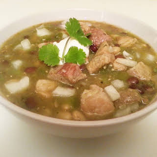 Chili Verde With Pork.