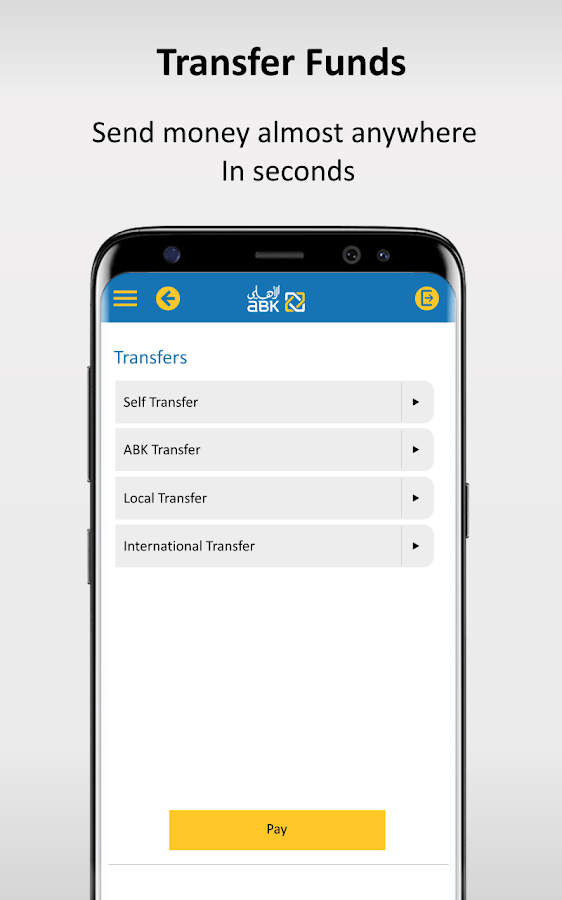 ABK Mobile Banking- screenshot