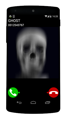 ghost fake call