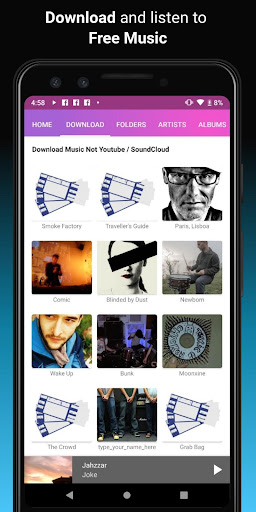 Download music, Free Music Player, MP3 Downloader 1.121 screenshots 2