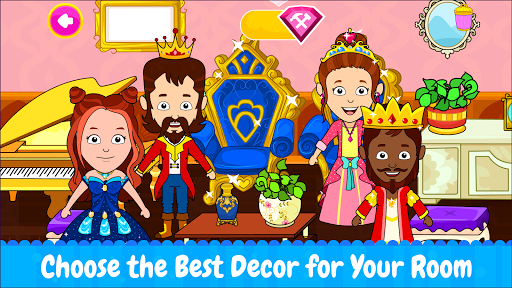 Tizi Town: My Princess Dollhouse Home Design Games 1.1 screenshots 7