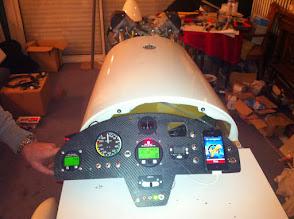 Photo: test TdB ok reste câblage radio+transpondeur