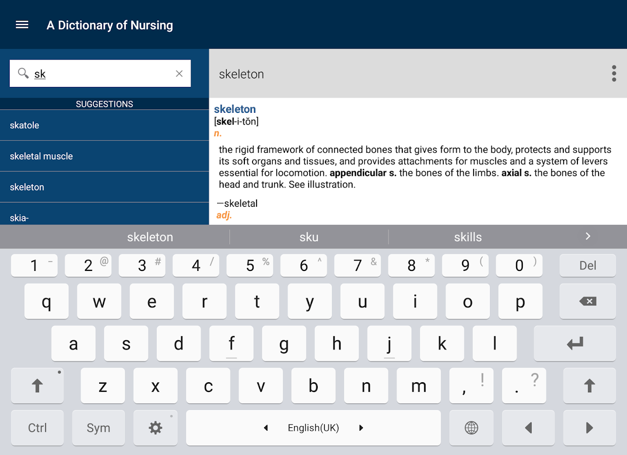 oxford dictionary of nursing android apps on google play oxford dictionary of nursing screenshot
