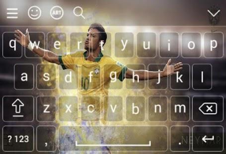 Keyboard For Neymar Brazil - náhled
