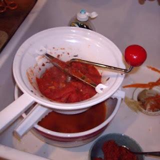 Freezer Fresh Tomato Sauce