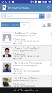 Employee Directory- screenshot thumbnail