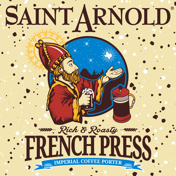 Logo of Saint Arnold French Press