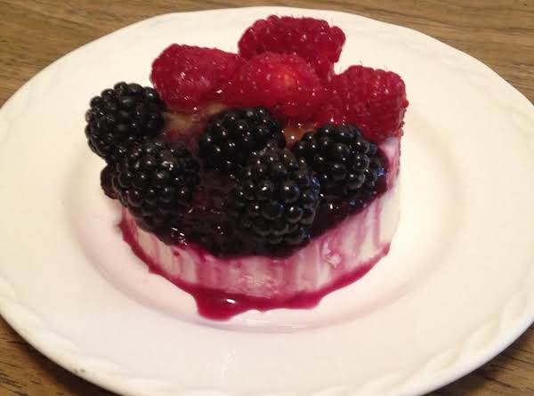 Panna Cotta With Fruit Recipe