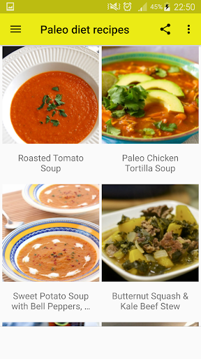 40+ Paleo Diet Recipes 1.1 screenshots 4