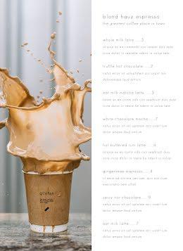 Coffee Menu - Drinks Menu item