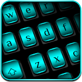 Business Black Blue Keyboard