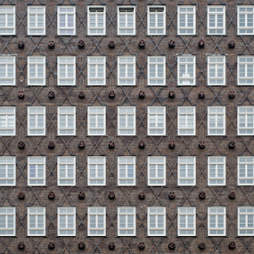 55 Windows by Johannes Oehl - Abstract Patterns ( germany, hamburg, city,  )