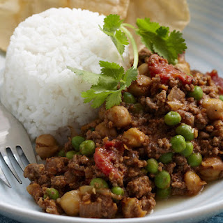 Chickpea Beef Curry.
