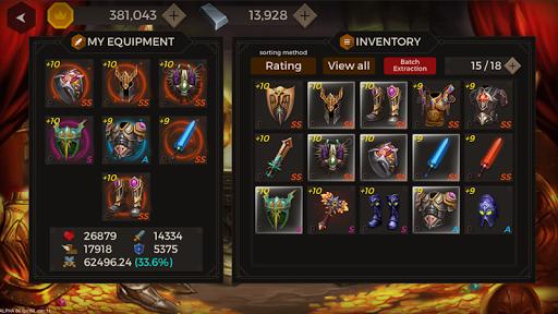 Secret Tower 500F (Super fast growing idle RPG) apktram screenshots 13