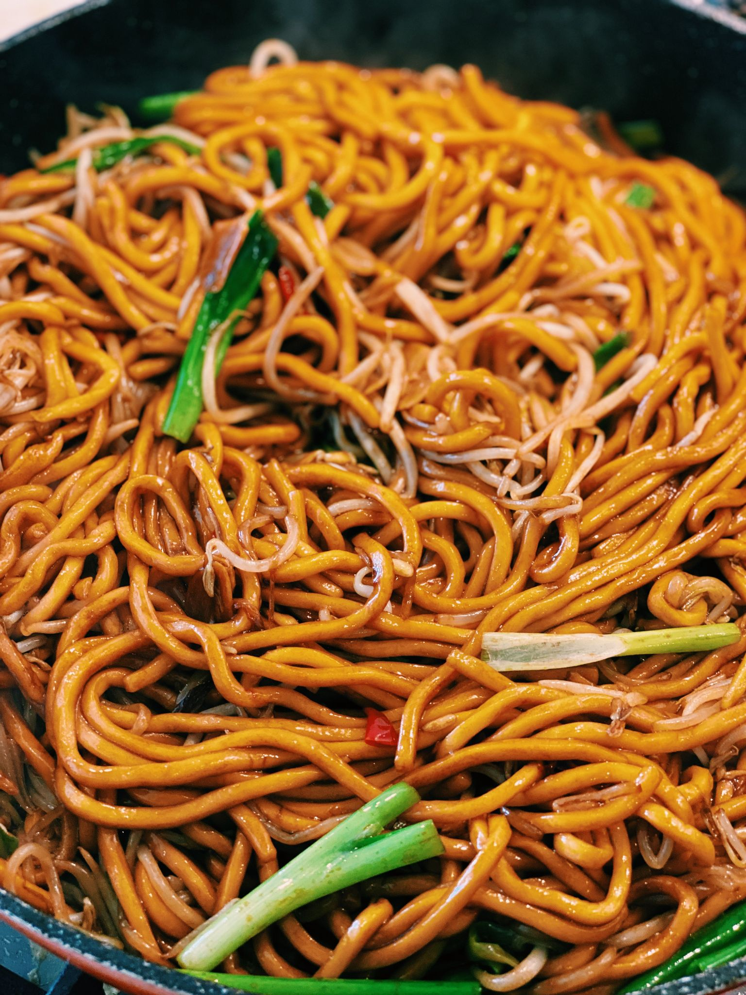 Soy Sauce Pan-fried Noodles (15 Minutes!)