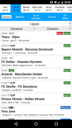 Programme Tv Football